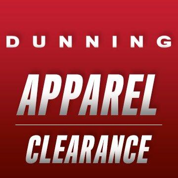 Dunning Golf Apparel Closeouts