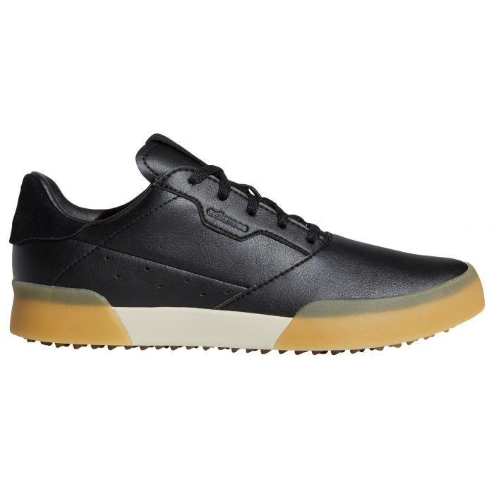 adidas Junior Adicross Retro Golf Shoes Black - ON SALE