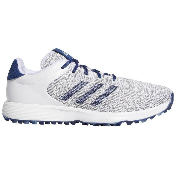 personal Rechazado simpático  Adidas S2G Golf Shoes White/Tech Indigo/Grey Two ON SALE - Carl's Golfland