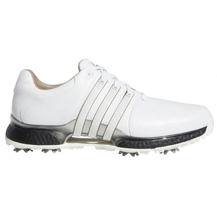 Adidas Tour360 Xt Golf Shoes 2020 White Black Silver Carl S Golfland