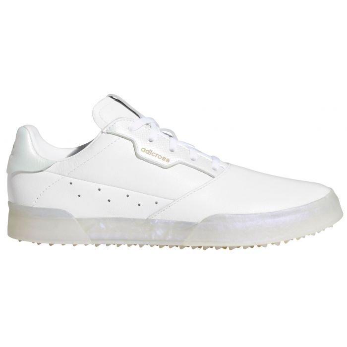 adidas Womens Adicross Retro Spikeless Golf Shoes 2021 - White/White/Mint