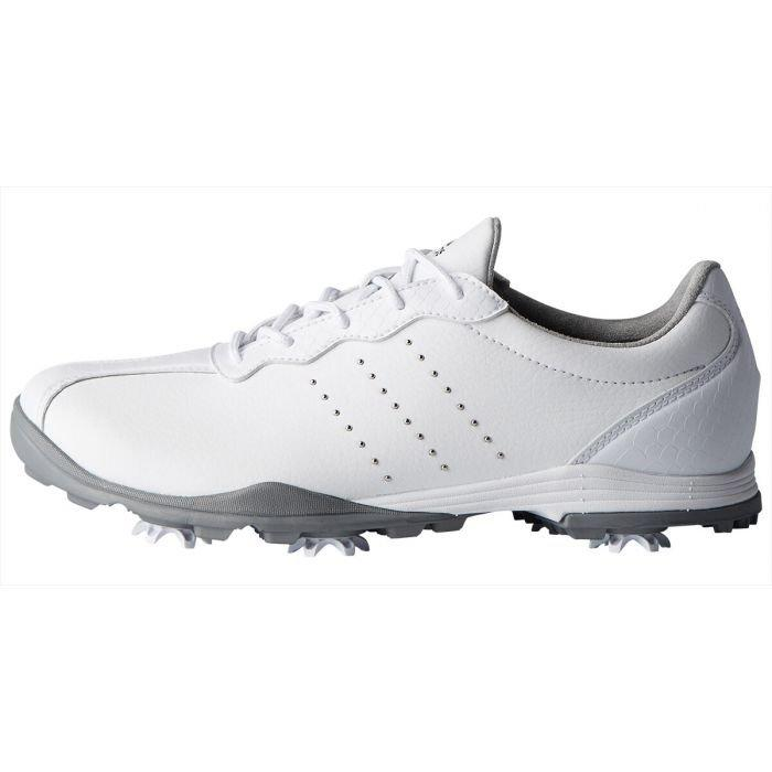 adidas Womens Adipure Dc Golf Shoes White/Silver - ON SALE
