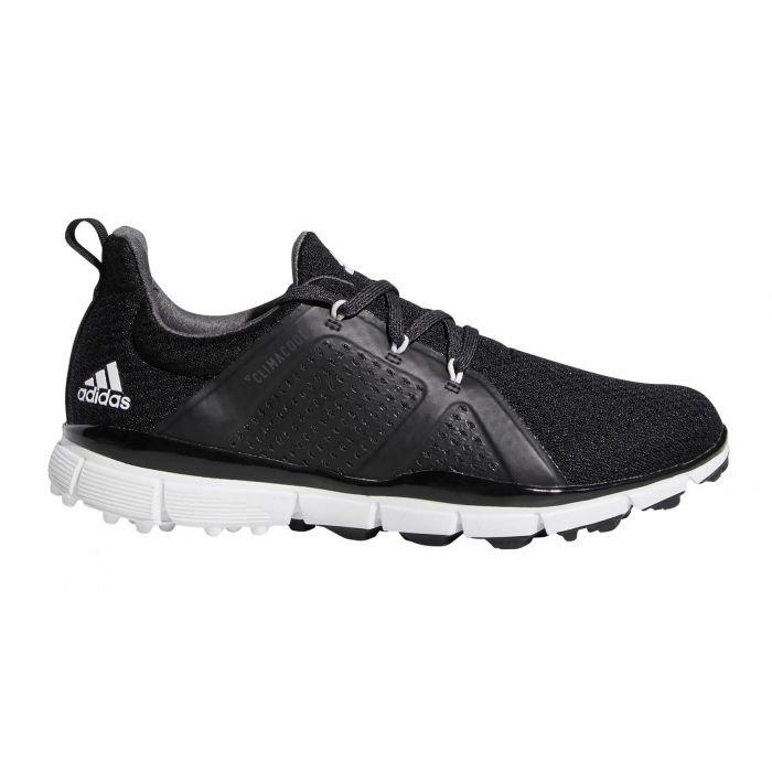 adidas Womens Climacool Cage Golf Shoes Black/White/Grey - ON SALE