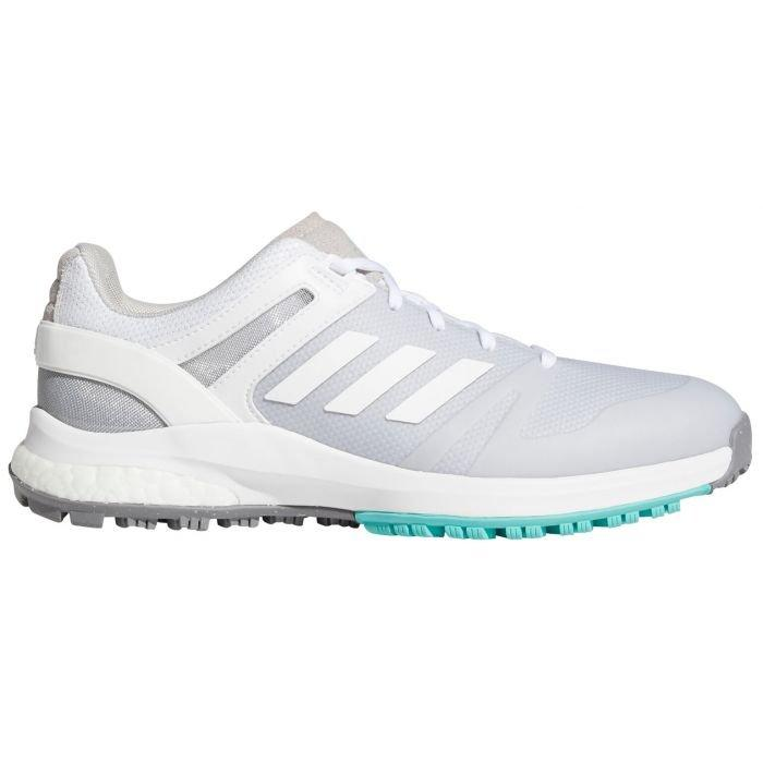 adidas Womens EQT Spikeless Golf Shoes 2021 - White/White/Mint