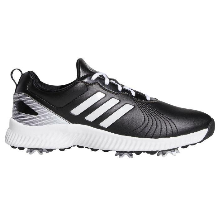 Adidas Womens Response Bounce Golf Shoes Black White Silver On Sale Carl S Golfland