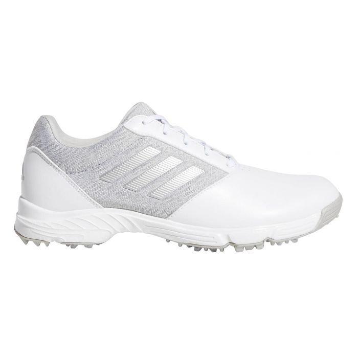 adidas Womens Tech Response Golf Shoes White/Silver/Grey
