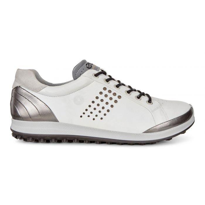 Ecco Biom Hybrid 2 Golf Shoes White Black On Sale Carl S Golfland