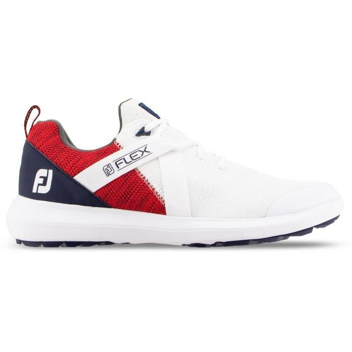 Footjoy Flex Golf Shoes Red White Blue 56104 Carl S Golfland