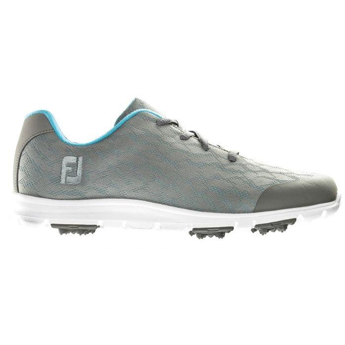 Footjoy Womens enJoy Golf Shoes Grey