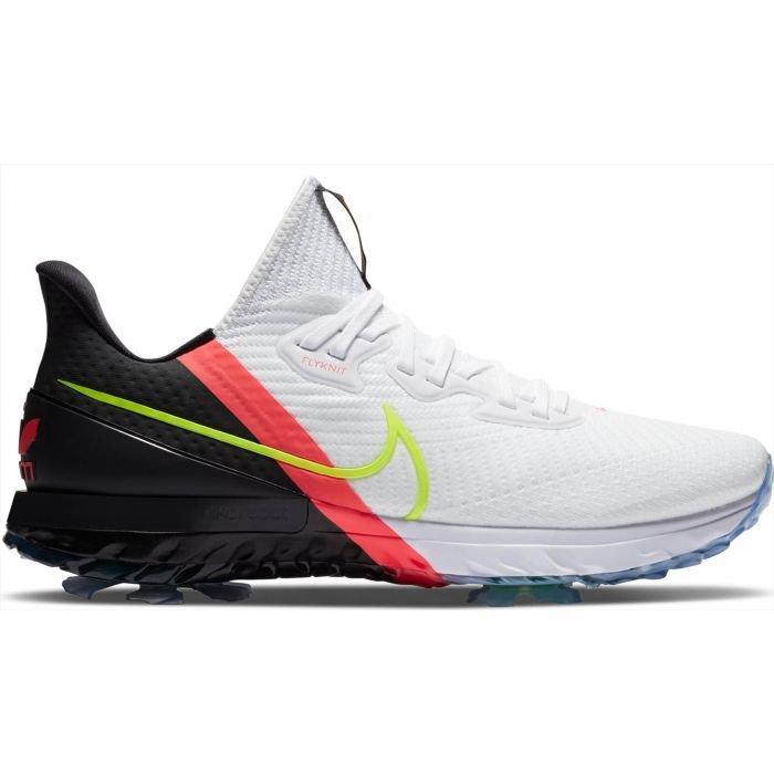 Nike Air Zoom Infinity Tour Golf Shoes 2020 White Volt Black Flash Crimson Carl S Golfland