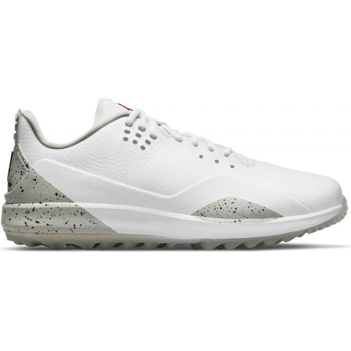 Nike Air Jordan ADG 3 Golf Shoes 2021 - White/Tech Grey/Black/Fire
