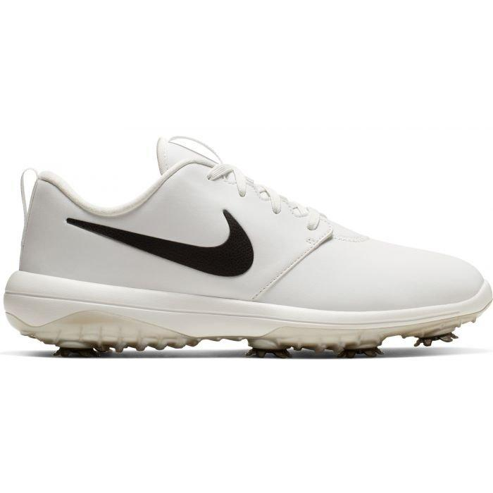 Nike Roshe G Tour Golf Shoes Summit White Black Contrast Swoosh Carl S Golfland