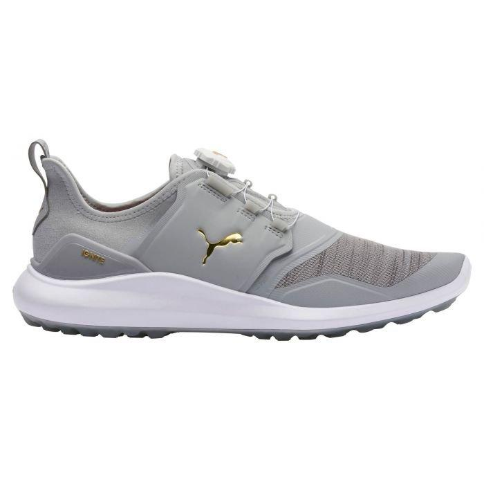 Puma Ignite Nxt Disc Golf Shoes High Rise Team Gold White Carl S Golfland