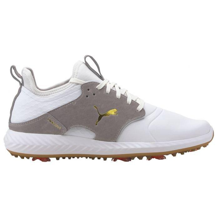 clásico Tom Audreath Touhou  Puma IGNITE PWRADAPT Caged Crafted Golf Shoes 2021 White/High Rise - Carl's  Golfland