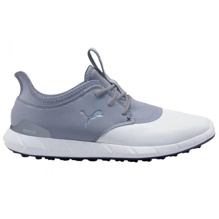 Puma Ignite Spikeless Pro Golf Shoes White Quarry Carl S Golfland