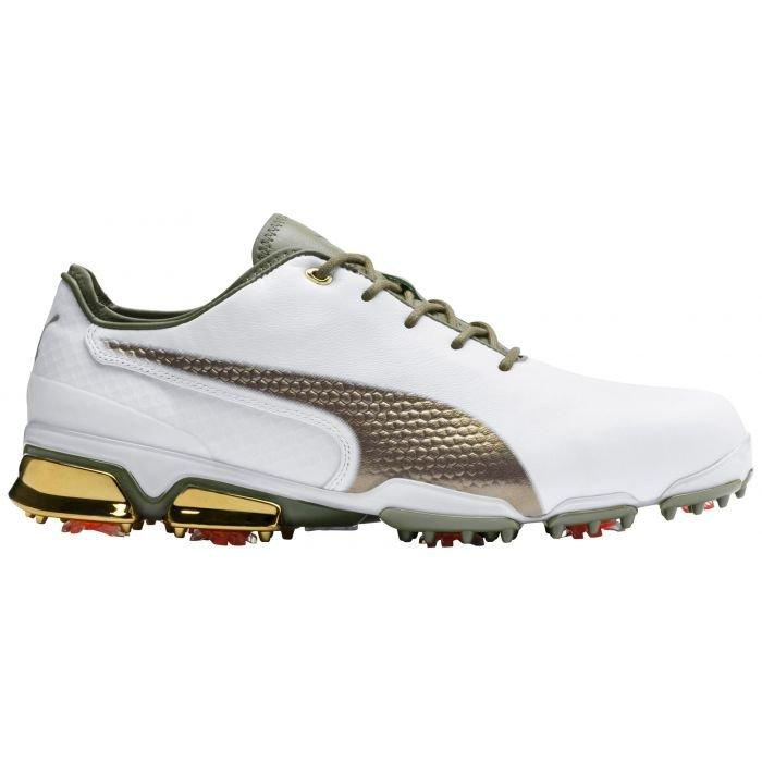 Puma Ignite Proadapt X Golf Shoes White Gold 2020 X Collection Carl S Golfland