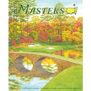 2020 Official Masters Journal Cover