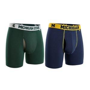 2UNDR NCAA Swing Shift Boxer Briefs