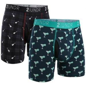 2UNDR Swing Shift Boxer Briefs 2 Pack