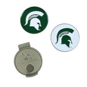 Team Effort NCAA MSU Ball Markers and Hat Clip