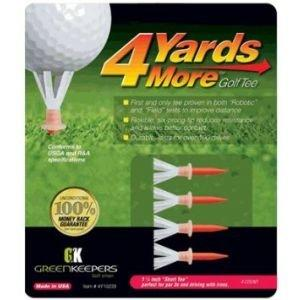 4 Yards More Golf Tees - 1 3/4""