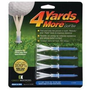 4 Yards More Golf Tees - 3 1/4""