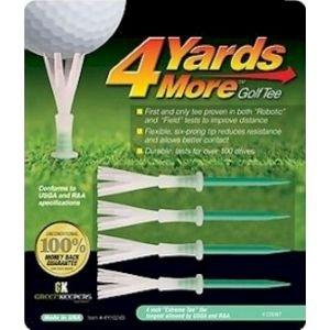 4 Yards More Golf Tees - 4""