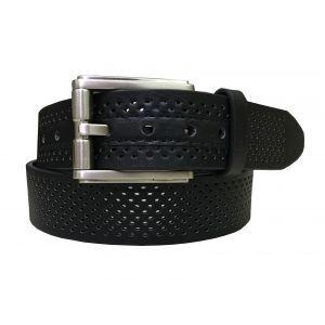 Gem Dandy 35mm Perforated Leather Golf Belt - ON SALE