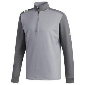 adidas 3-Stripes Core 1/4 Zip Golf Sweatshirt Pullover - ON SALE