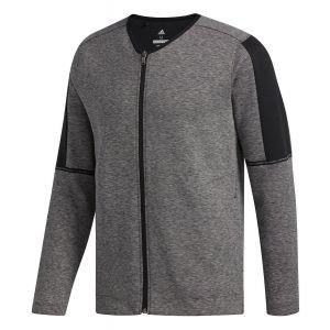 adidas Adicross Heather Fleece Full-Zip Golf Cardigan - ON SALE