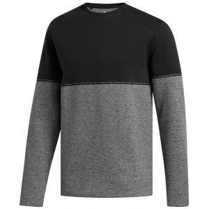 adidas Adicross Heather Fleece Crew Golf Sweatshirt - ON SALE