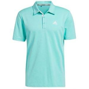 adidas Advantage Novelty Heather Golf Polo Shirt