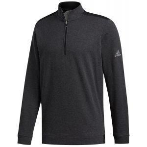 adidas Club Heather 1/4 Zip Golf Pullover