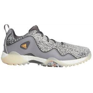 adidas CodeChaos 21 Golf Shoes Grey Five/Scream Orange/Grey Three