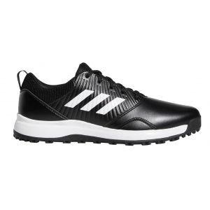 adidas CP Traxion SL Spikeless Golf Shoes - Black/White/Silver