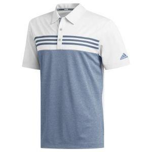 adidas Heather Blocked Golf Polo Shirt On Sale