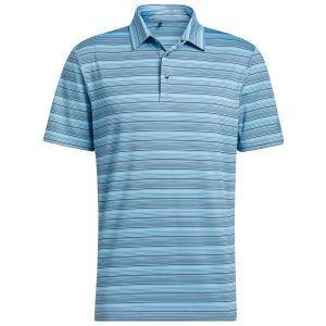 adidas Heather Snap Golf Polo Shirt