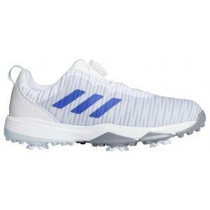 adidas Junior CodeChaos 21 Boa Golf Shoes White/Night Flash/Halo Blue