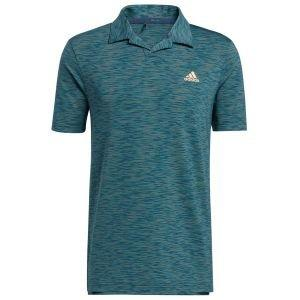 adidas Mesh Broken-Stripe Golf Polo Shirt