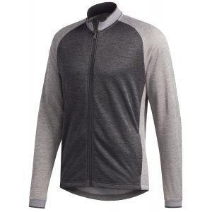 adidas Midweight Textured Full Zip Golf Jacket On Sale