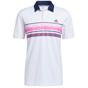 adidas Novelty Core Stripe Golf Polo Shirt