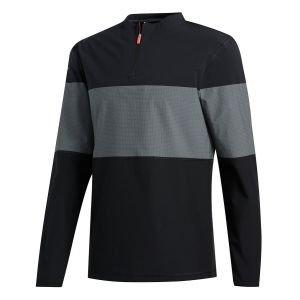 adidas Sport Lightweight Wind 1/4 Zip Golf Pullover
