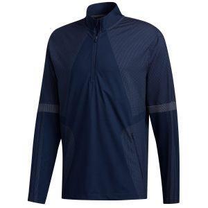 adidas Sport Warp Knit 1/2 Zip Golf Jacket