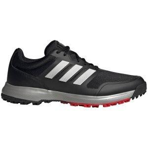 adidas Tech Response SL Spikeless Golf Shoes Black/Silver/Scarlet