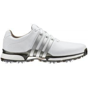 adidas Tour 360 XT Golf Shoes 2020 White/Silver - ON SALE