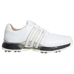 Adidas Tour360 XT Golf Shoes White/Black/Silver 2020