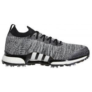 adidas Tour360 XT Pk Primeknit Golf Shoes - Black/White/Silver