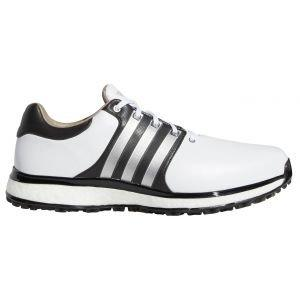 adidas Tour360 XT Spikeless Golf Shoes 2020 White/Silver/Black - ON SALE