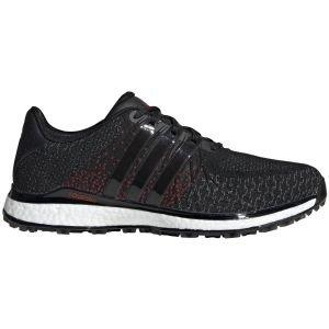 adidas Tour360 XT-SL TEX Spikeless Golf Shoes Black/Grey/Scarlet