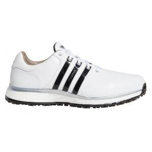 Adidas Tour360 XT Spikeless Golf Shoes White/Black/Silver
